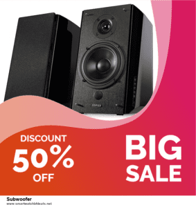 List of 10 Best Black Friday and Cyber Monday Subwoofer Deals 2020