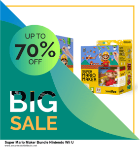 List of 10 Best Black Friday and Cyber Monday Super Mario Maker Bundle Nintendo Wii U Deals 2020