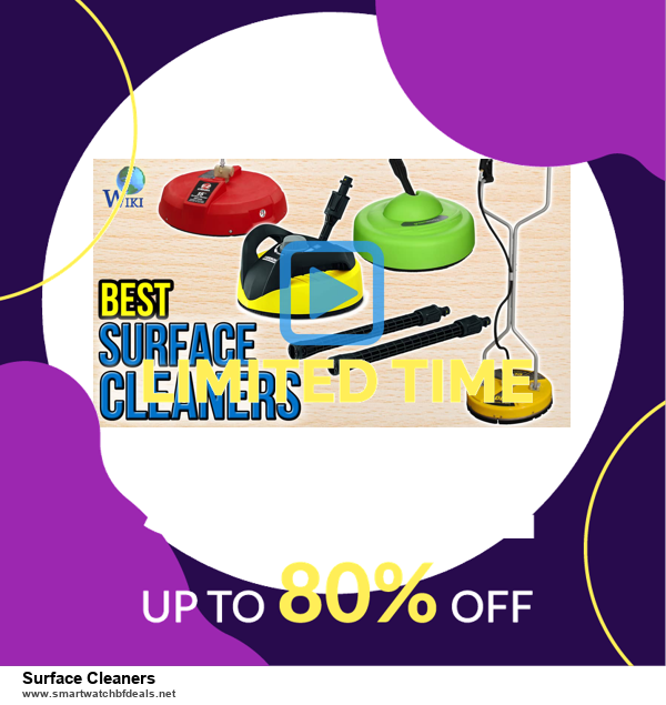 List of 10 Best Black Friday and Cyber Monday Surface Cleaners Deals 2020