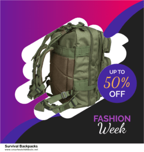 7 Best Survival Backpacks Black Friday 2020 and Cyber Monday Deals [Up to 30% Discount]