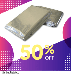 Grab 10 Best Black Friday and Cyber Monday Survival Blankets Deals & Sales