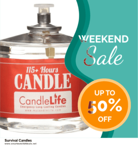 Top 11 Black Friday and Cyber Monday Survival Candles 2020 Deals Massive Discount