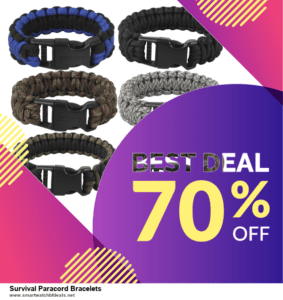 Top 5 Black Friday 2020 and Cyber Monday Survival Paracord Bracelets Deals [Grab Now]