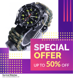 List of 6 Survival Watches Black Friday 2020 and Cyber MondayDeals [Extra 50% Discount]