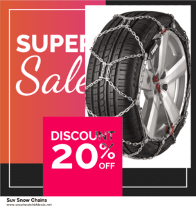List of 10 Best Black Friday and Cyber Monday Suv Snow Chains Deals 2020