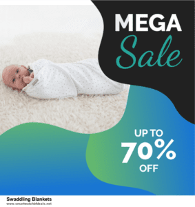 9 Best Swaddling Blankets Black Friday 2020 and Cyber Monday Deals Sales