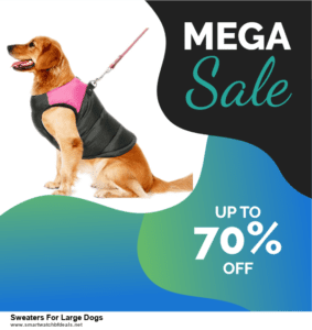 List of 10 Best Black Friday and Cyber Monday Sweaters For Large Dogs Deals 2020