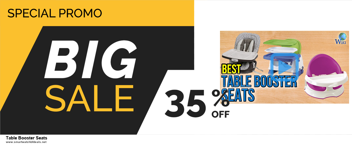 List of 10 Best Black Friday and Cyber Monday Table Booster Seats Deals 2020