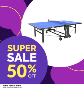 List of 10 Best Black Friday and Cyber Monday Table Tennis Table Deals 2020