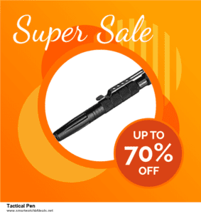 10 Best Tactical Pen Black Friday 2020 and Cyber Monday Deals Discount Coupons