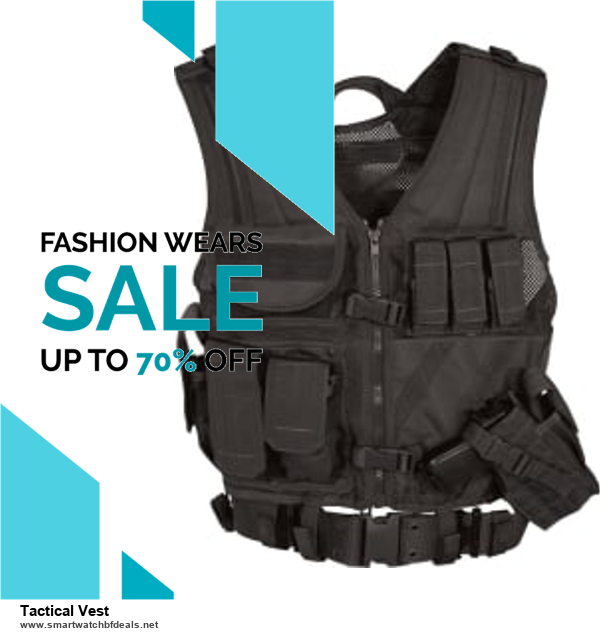 List of 6 Tactical Vest Black Friday 2020 and Cyber MondayDeals [Extra 50% Discount]