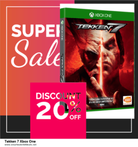 List of 6 Tekken 7 Xbox One Black Friday 2020 and Cyber MondayDeals [Extra 50% Discount]