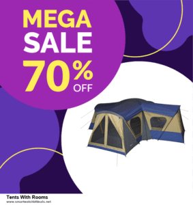 9 Best Black Friday and Cyber Monday Tents With Rooms Deals 2020 [Up to 40% OFF]