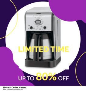 7 Best Thermal Coffee Makers Black Friday 2020 and Cyber Monday Deals [Up to 30% Discount]