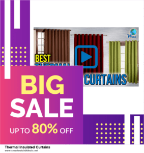 10 Best Black Friday 2020 and Cyber Monday  Thermal Insulated Curtains Deals | 40% OFF