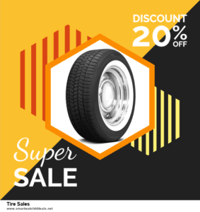 Top 5 Black Friday 2020 and Cyber Monday Tire Sales Deals [Grab Now]