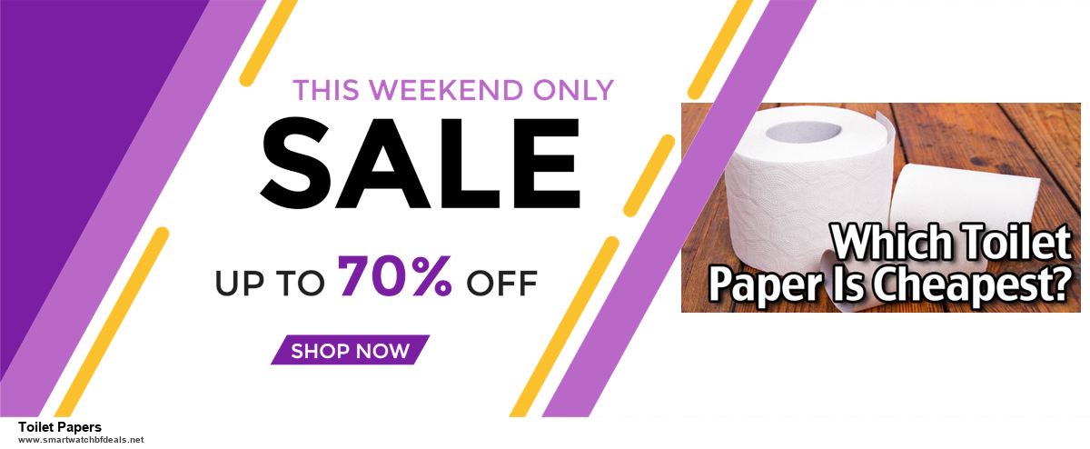 Top 5 Black Friday 2020 and Cyber Monday Toilet Papers Deals [Grab Now]