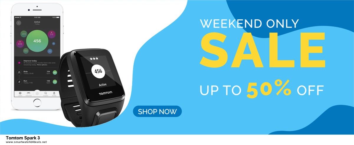 Top 11 Black Friday and Cyber Monday Tomtom Spark 3 2020 Deals Massive Discount