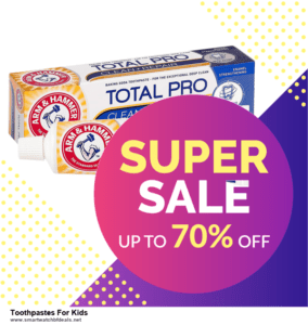 10 Best Black Friday 2020 and Cyber Monday  Toothpastes For Kids Deals | 40% OFF