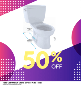 Top 5 Black Friday and Cyber Monday Toto Cst744Sl01 Drake 2 Piece Ada Toilet Deals 2020 Buy Now