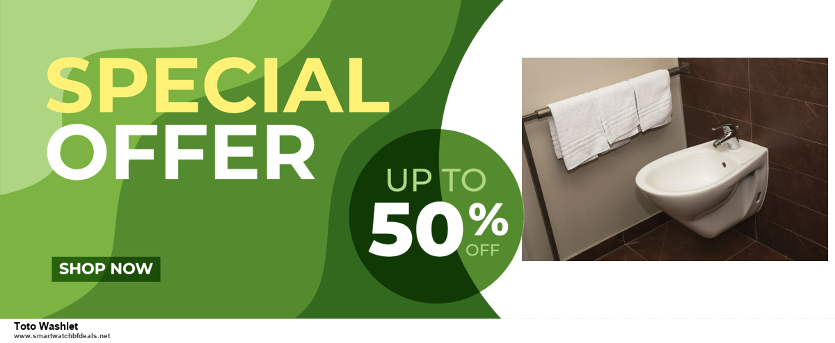 9 Best Black Friday and Cyber Monday Toto Washlet Deals 2020 [Up to 40% OFF]