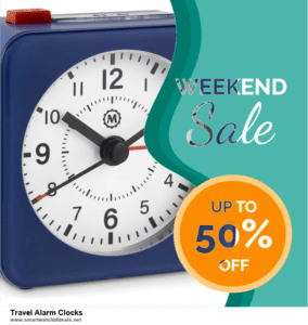 10 Best Travel Alarm Clocks Black Friday 2021 and Cyber Monday Deals Discount Coupons