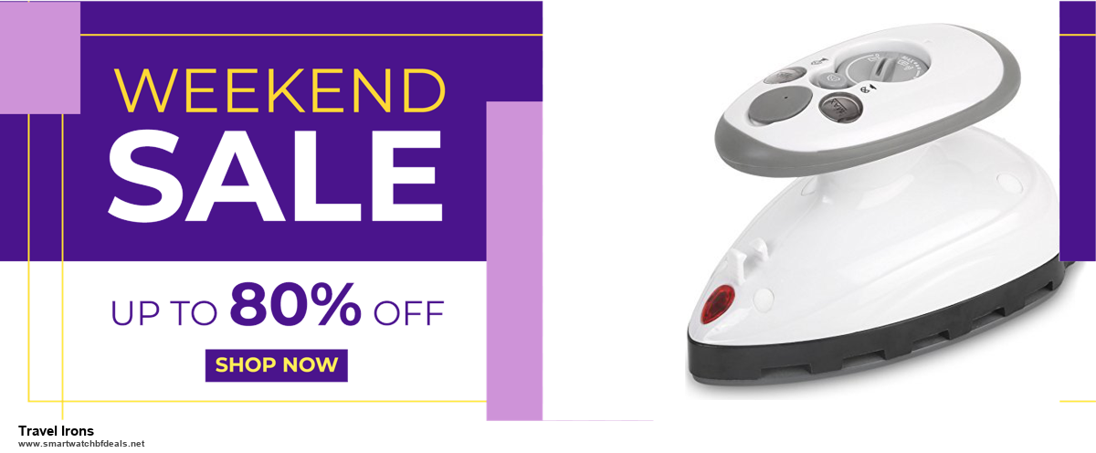 Top 5 Black Friday 2020 and Cyber Monday Travel Irons Deals [Grab Now]
