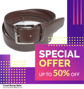 7 Best Travel Money Belts Black Friday 2020 and Cyber Monday Deals [Up to 30% Discount]