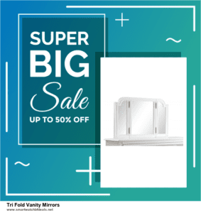 5 Best Tri Fold Vanity Mirrors Black Friday 2020 and Cyber Monday Deals & Sales