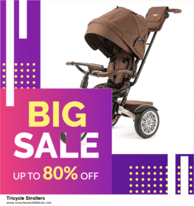 5 Best Tricycle Strollers Black Friday 2020 and Cyber Monday Deals & Sales