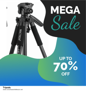 Top 10 Tripods Black Friday 2020 and Cyber Monday Deals