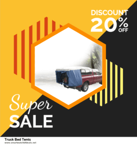13 Best Black Friday and Cyber Monday 2020 Truck Bed Tents Deals [Up to 50% OFF]
