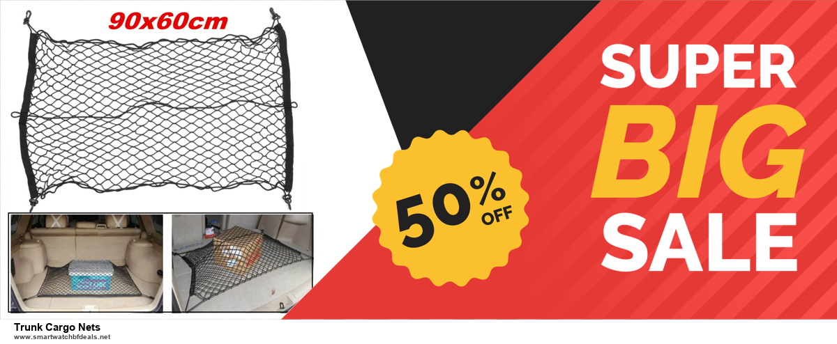 Grab 10 Best Black Friday and Cyber Monday Trunk Cargo Nets Deals & Sales