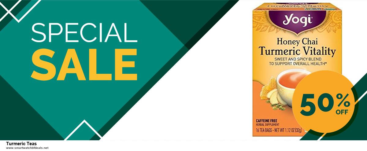 List of 10 Best Black Friday and Cyber Monday Turmeric Teas Deals 2020