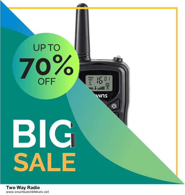 Top 5 Black Friday and Cyber Monday Two Way Radio Deals 2020 Buy Now