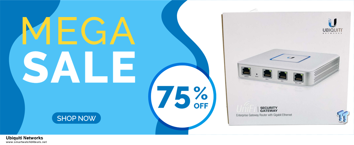 9 Best Black Friday and Cyber Monday Ubiquiti Networks Deals 2020 [Up to 40% OFF]
