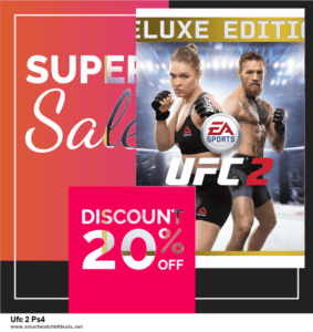 6 Best Ufc 2 Ps4 Black Friday 2020 and Cyber Monday Deals | Huge Discount