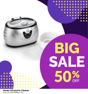 7 Best Ukoke Ultrasonic Cleaner Black Friday 2020 and Cyber Monday Deals [Up to 30% Discount]