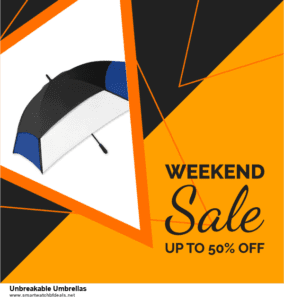 13 Best Black Friday and Cyber Monday 2020 Unbreakable Umbrellas Deals [Up to 50% OFF]