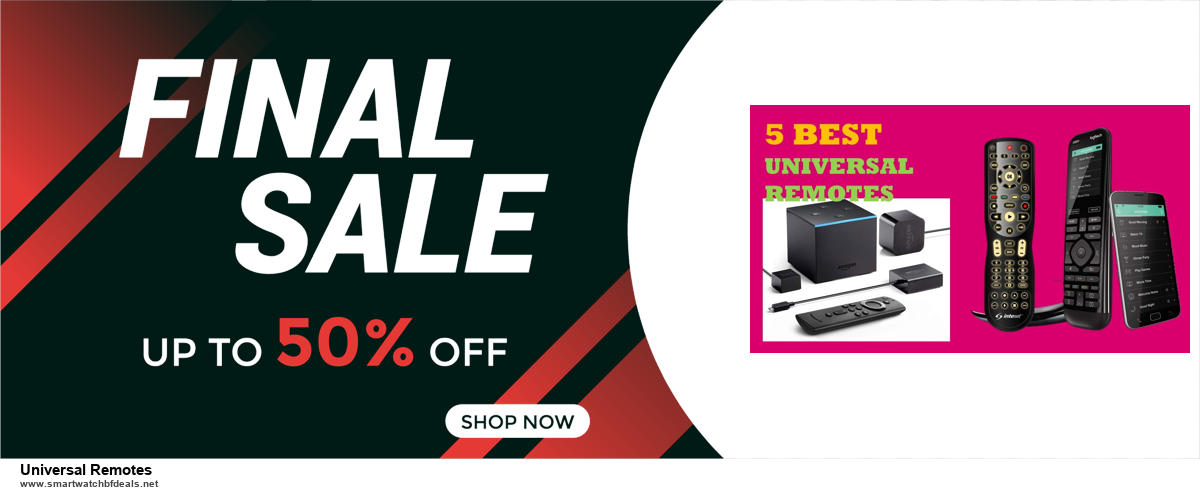 Grab 10 Best Black Friday and Cyber Monday Universal Remotes Deals & Sales