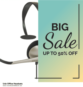 5 Best Usb Office Headsets Black Friday 2020 and Cyber Monday Deals & Sales