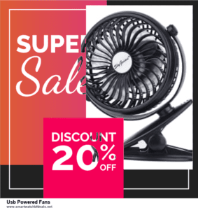 7 Best Usb Powered Fans Black Friday 2020 and Cyber Monday Deals [Up to 30% Discount]