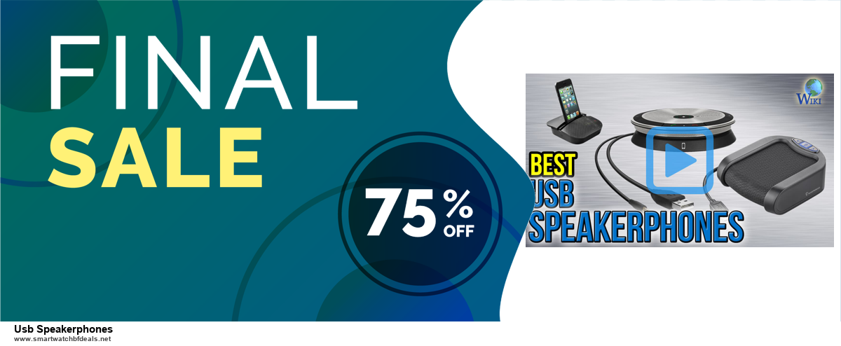 Top 5 Black Friday 2020 and Cyber Monday Usb Speakerphones Deals [Grab Now]