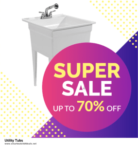 List of 10 Best Black Friday and Cyber Monday Utility Tubs Deals 2020
