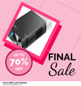 Top 5 Black Friday 2021 and Cyber Monday Vamvo Mini Led Projector Deals [Grab Now]