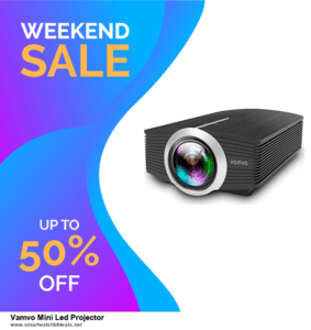 Top 5 Black Friday 2020 and Cyber Monday Vamvo Mini Led Projector Deals [Grab Now]
