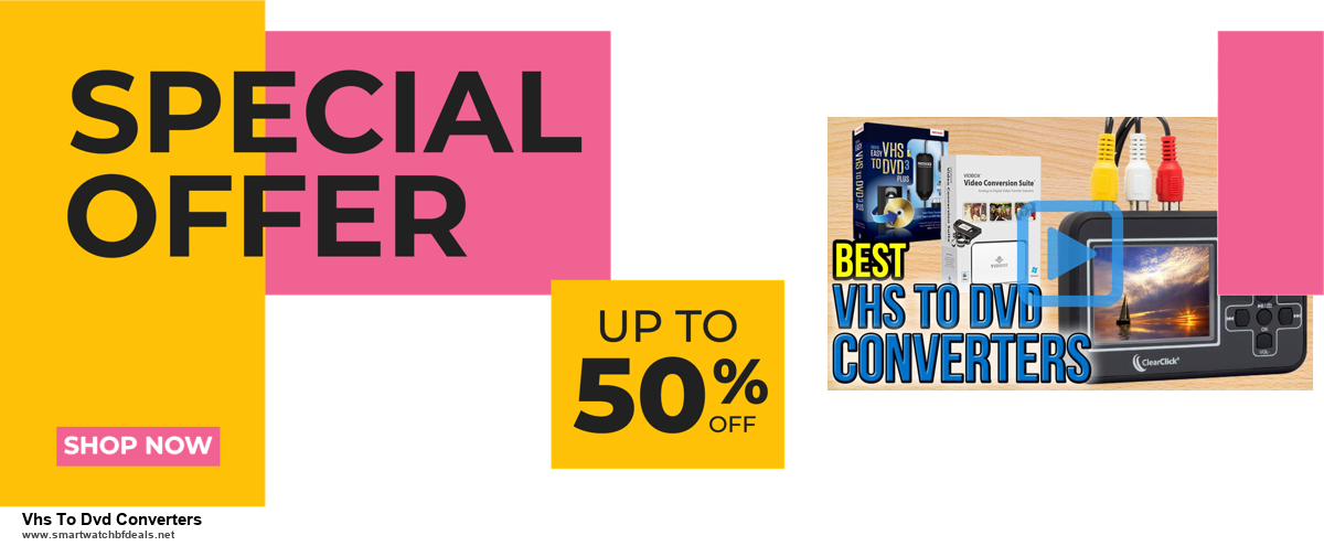 10 Best Black Friday 2020 and Cyber Monday Vhs To Dvd Converters Deals | 40% OFF
