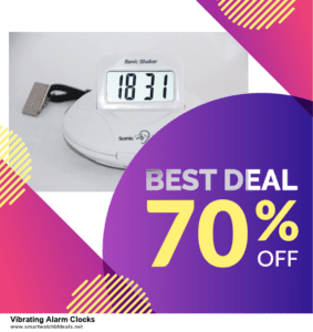 List of 10 Best Black Friday and Cyber Monday Vibrating Alarm Clocks Deals 2020
