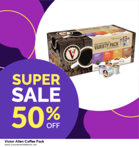 List of 10 Best Black Friday and Cyber Monday Victor Allen Coffee Pack Deals 2020
