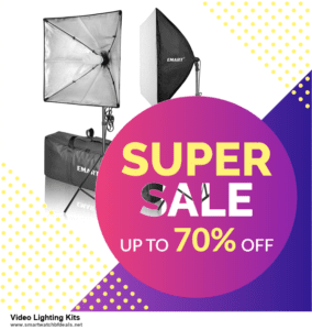 List of 10 Best Black Friday and Cyber Monday Video Lighting Kits Deals 2020